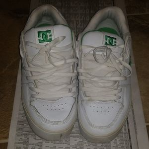 DC Shoes | Mens Dc White Green Shoes
